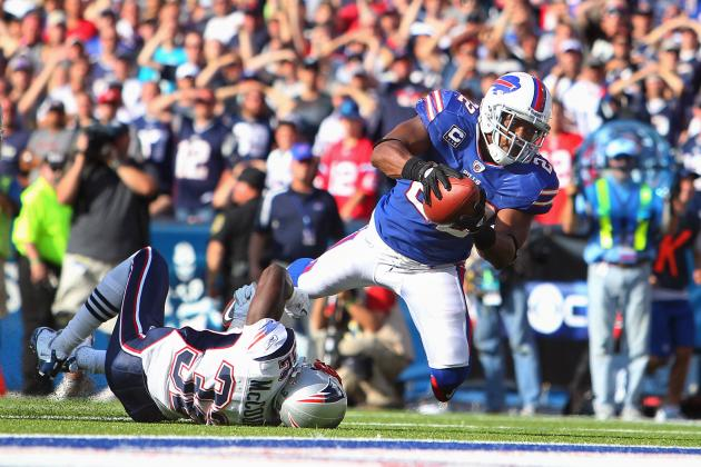Fred Jackson: Assessing Bills RB's Fantasy Value for Week 4 Matchup vs. Patriots