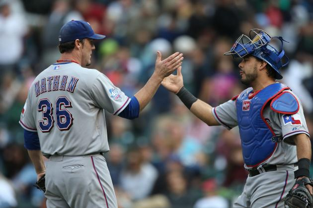Rangers' Joe Nathan Has Added Incentive to Finish Next Appearance