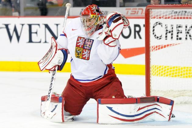 Goalie Prospect Petr Mrazek Draws Favorable Comparisons to Dominik Hasek