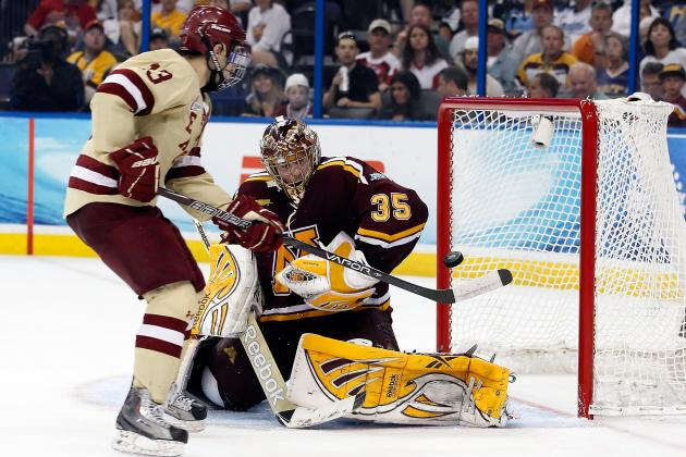 Boston College Favorite to Win Hockey East Title Again