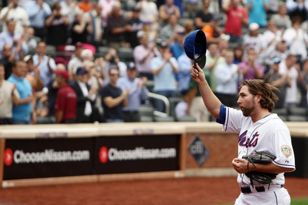 R.A. Dickey: Mets Pitcher Notches 20th Win vs. Pirates