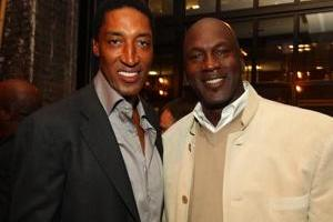 Michael Jordan and Scottie Pippen Dance Battle at Former Bulls' Birthday Bash