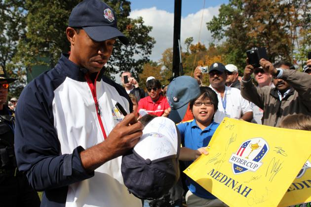 Ryder Cup 2012 Live Streaming: Friday's Schedule and Matchups