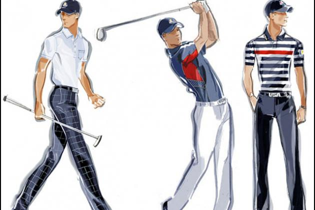 Ryder Cup Uniforms 2012: Grading the US Team's Ralph Lauren Swag
