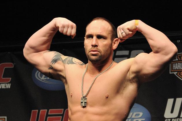 Shane Carwin Injured Again? Sounds Like It's About Time to Hang It Up, Big Guy