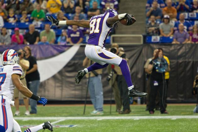 Jerome Simpson: Updated Fantasy Football Analysis & Outlook for Vikings WR