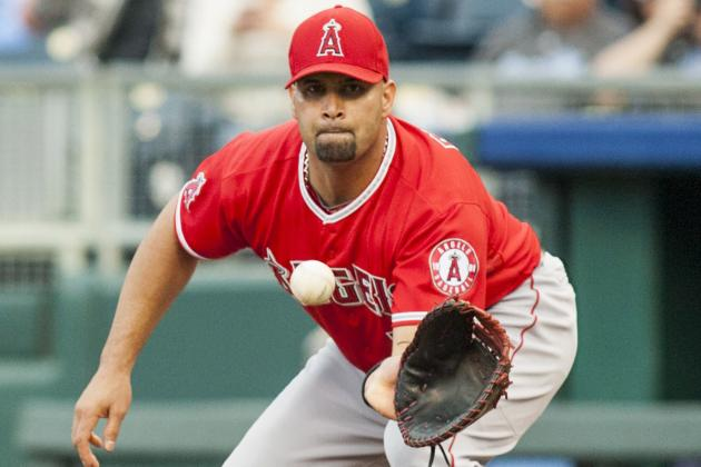 Pujols Battling Leg Woes as Angels Try to Catch Athletics