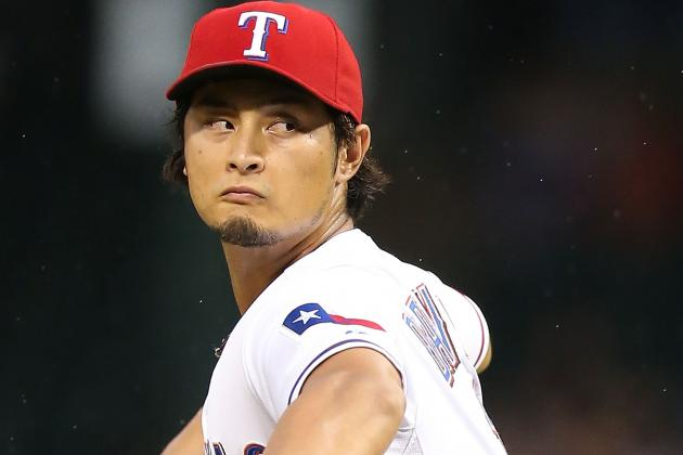 Yu Darvish on Track to Start Sunday Against Angels