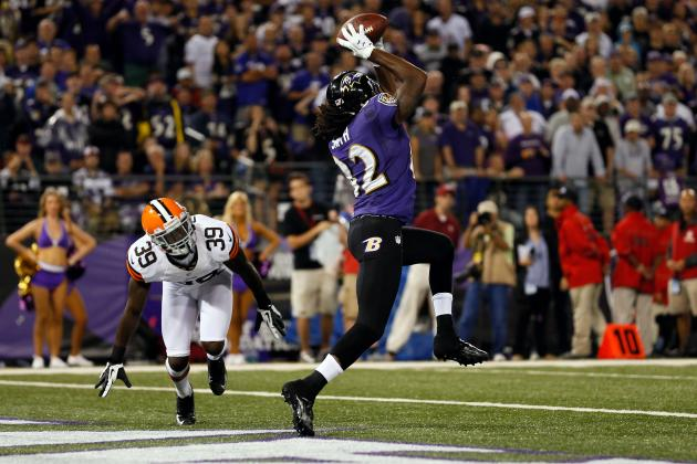 Torrey Smith: Baltimore Wide Receiver Is Key to Jump-Starting Ravens Offense