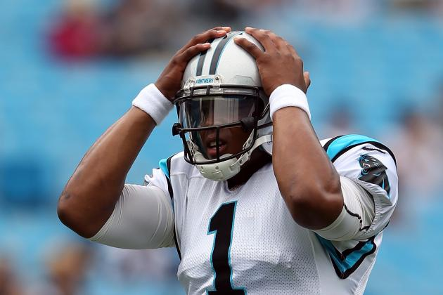 Cam Newton: Why There Is Major Cause for Concern in Fantasy Football