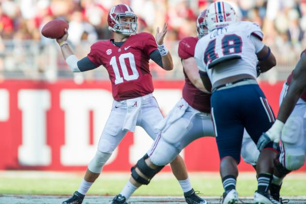 Alabama Football: Highlighting Toughest Matchups for Crimson Tide in SEC Play