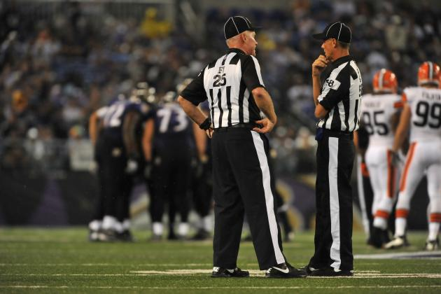 NFL Officials: Celebrate Their Return to the Gridiron...for Now
