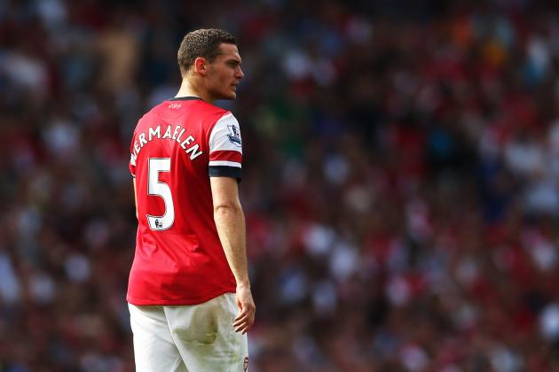 Arsenal vs. Chelsea: How Thomas Vermaelen's Return Impacts Matchup