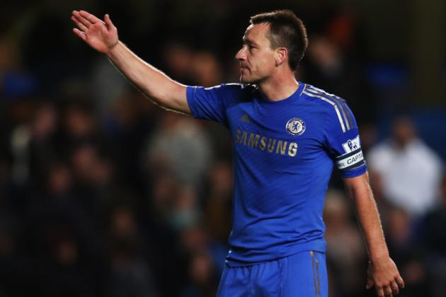 Chelsea vs. Arsenal: John Terry Will Thrive on Pressure in London Derby