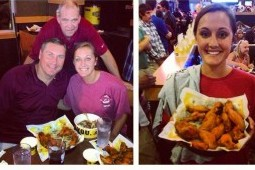 Mississippi State Head Coach Dan Mullen Dominates Wing Eating Contest