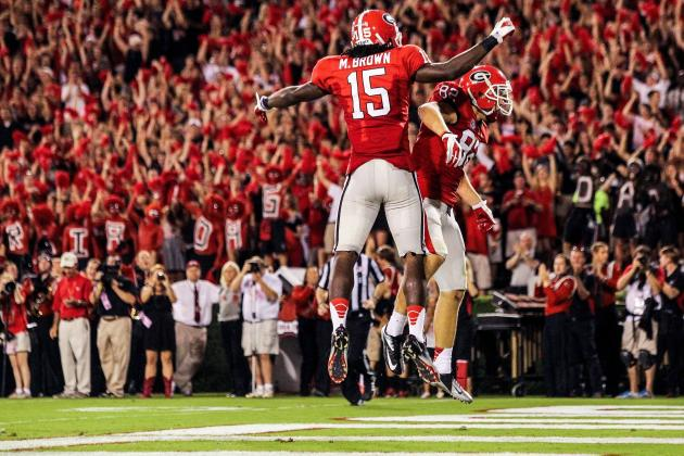 Georgia Defense Dominates Headlines, but the Bulldogs' Offense Is Legit