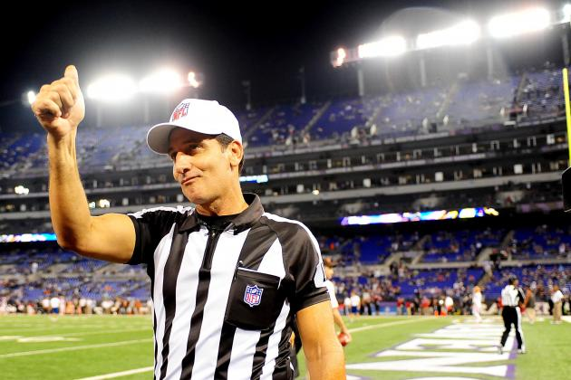 Grading the NFL Referees in Their First Game Back