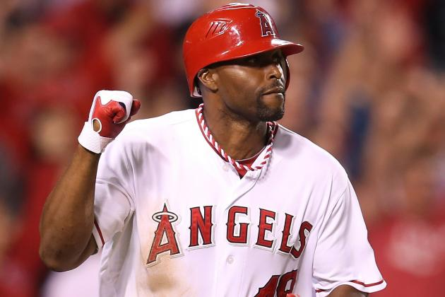Torii Hunter Giving Angels Reason to Keep Him