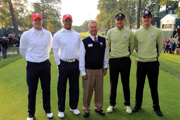 Ryder Cup 2012 Scores: Updated Leaderboards from Foursomes at Medinah