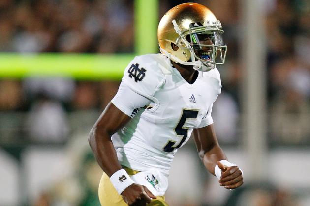 Notre Dame QB Everett Golson Hardly in the Doghouse