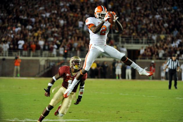 Clemson Tigers Football: How Will Sammy Watkins' Absence Affect the Game