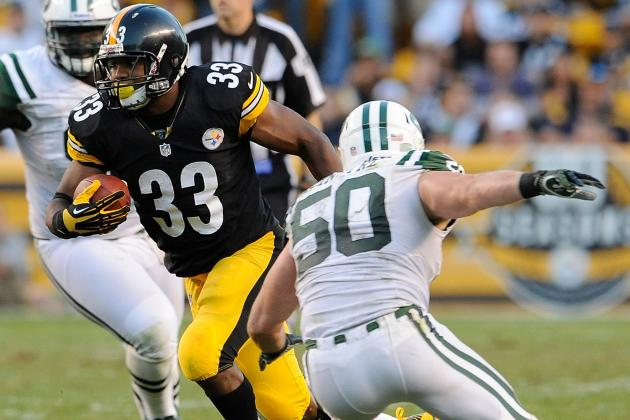 Historically Bad Start for Steelers Run Game