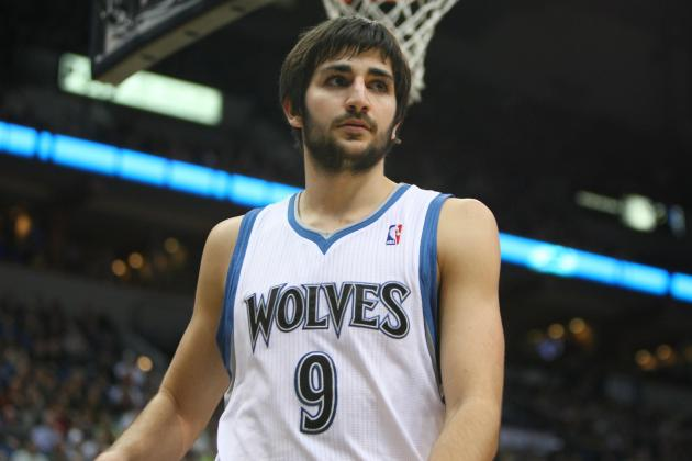 NBA Rumors: Ricky Rubio May Remain Sidelined for Much of the Season