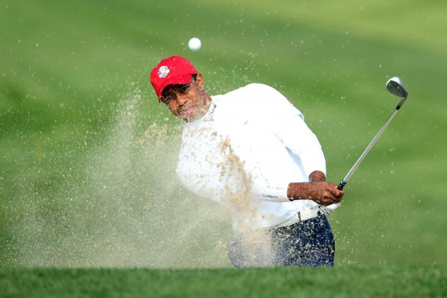 Tiger Woods at 2012 Ryder Cup Tracker: Day 1 Highlights, Updates and More