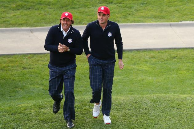 Ryder Cup 2012 Pairings: Highlighting the Best Afternoon Foursomes