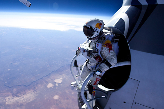 Skydiver Felix Baumgartner Will Soon Jump from 23 Miles Above Earth