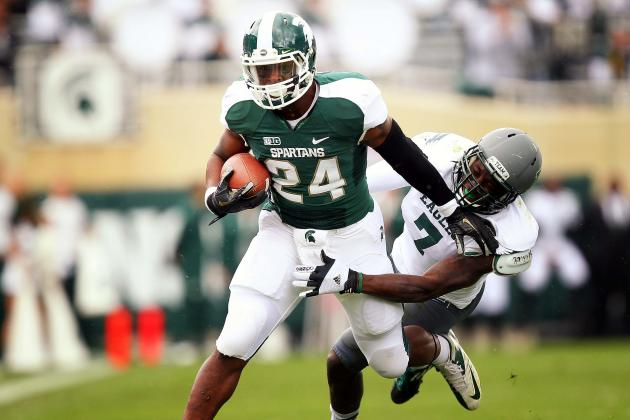 Urban Meyer Compares Spartans' Le'Veon Bell to Ron Dayne, Only More Athletic