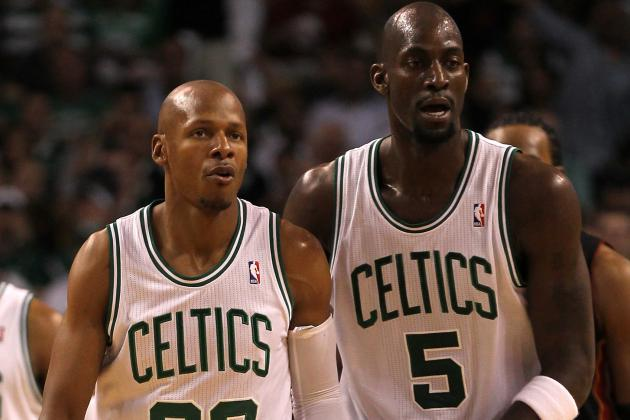 Kevin Garnett Deleted Ray Allen's Phone Number After Allen Signed with Heat
