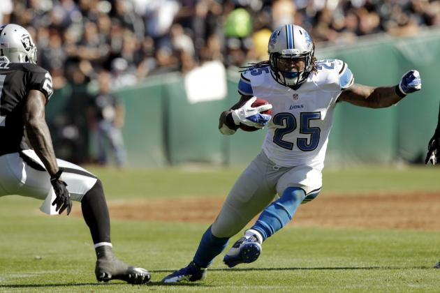Mikel Leshoure Injury: Updates on Lions RB's Week 4 Status and Fantasy Value