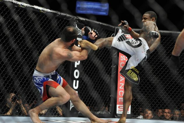 UFC on Fuel 5: Can Yves Jabouin Become a Threat with His Current Skill Set?
