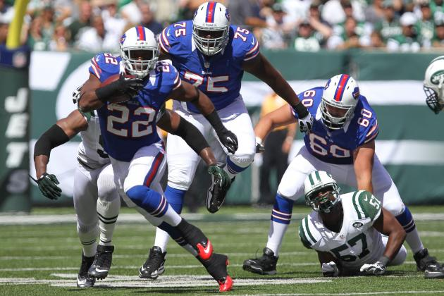Fred Jackson: Injury Questions Make Bills RB Too Risky to Start vs. Patriots