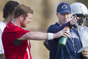 O'Brien Pleased with Matt McGloin's Mental Approach to QB Position