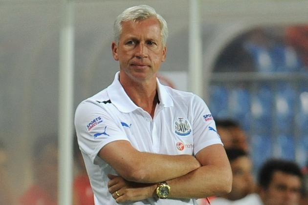 Alan Pardew Astounded When Handed Eight-Year Deal by Newcastle