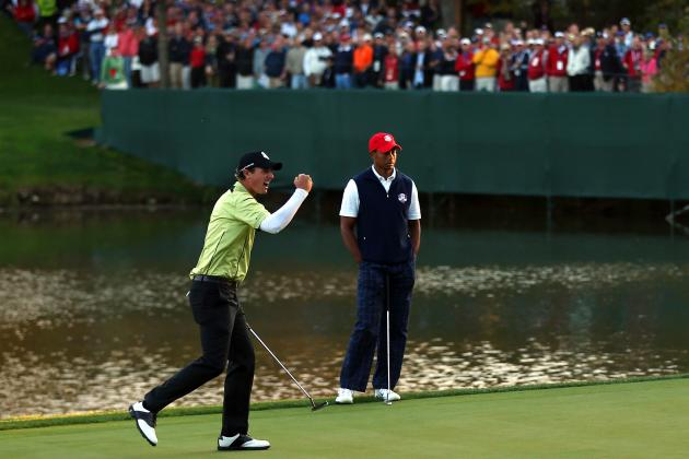 Ryder Cup 2012: Nicolas Colsaerts Stuns Tiger, Field with Eight Birdies, Eagle