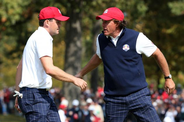 Ryder Cup 2012: Complete Pairings for Saturday's Matches