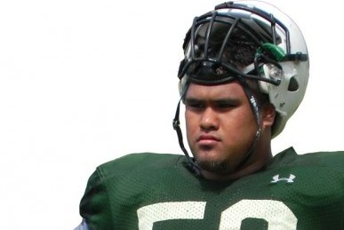Hawaii DTs Carted off Field, Flash 'shaka' Sign