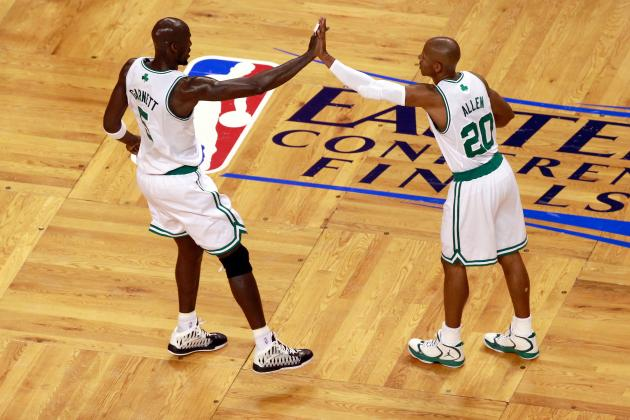 Kevin Garnett and Ray Allen No Longer on Speaking Terms