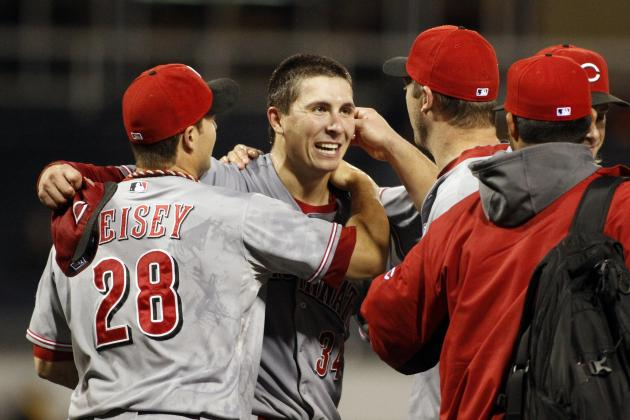 Cincinnati's Homer Bailey Pitches No-Hitter Versus Pittsburgh Pirates