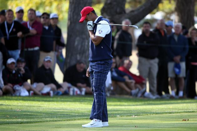 Tiger Woods Ryder Cup 2012: After Dispiriting Start, Where Does He Go from Here?