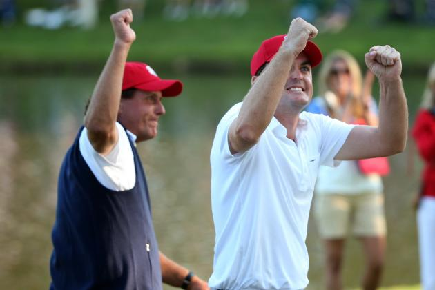 Ryder Cup 2012: Phil Mickelson, Keegan Bradley, Bubba and Webb Lead on Day 1