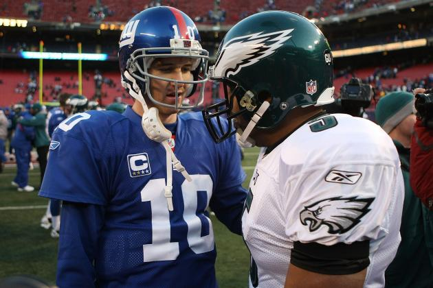 New York Giants: Top 5 Games Against the Eagles in the Coughlin/Manning Era