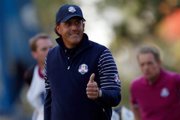 Phil Mickelson: Early Success Should Mean Singles Showdown with Rory McIlory
