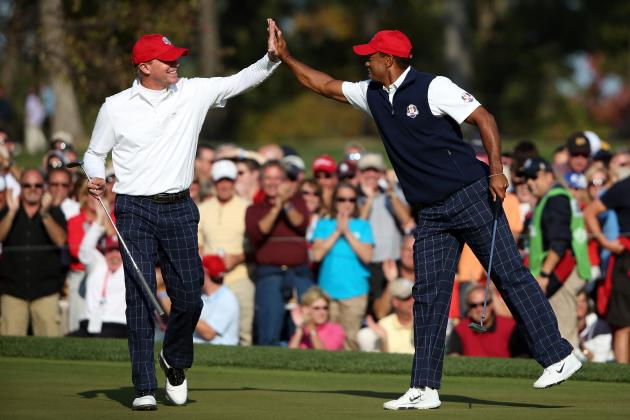Ryder Cup 2012 Pairings: Full Matchups for Saturday Afternoon Four-Ball