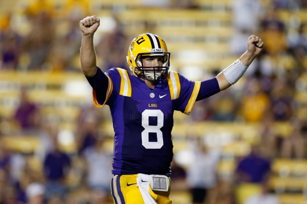 Towson vs. LSU: This Is Where Les Miles Needs to Turn QB Zach Mettenberger Loose