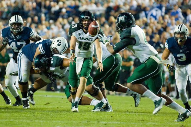 Hawaii vs. BYU: Cougars Win Big and Put Warriors Season in Jeopardy