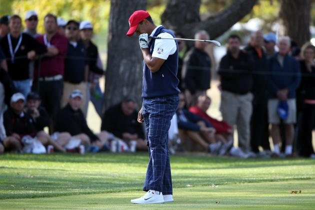 Ryder Cup 2012: Most Disappointing Golfers so Far